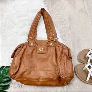 Marc Jacobs Vintage Brown Leather Shoulder Bag